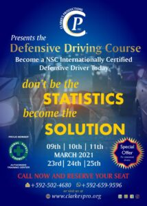 Defensive Driving (March)